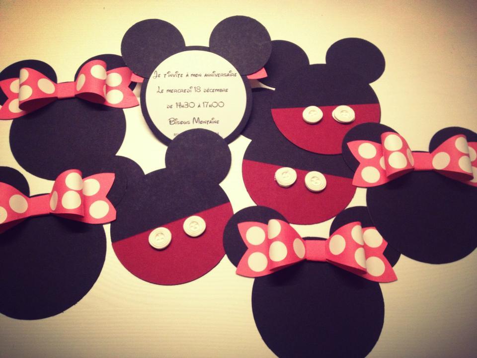 Mickey Et Minnie Birthday Party