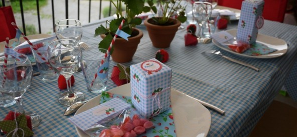 Les fraises de la fête des mères …